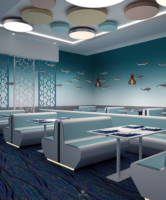 主题餐厅空间装修设计案例