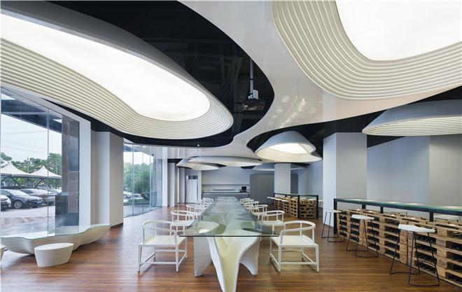 独立设计师葡萄酒展厅室内设计(上海)