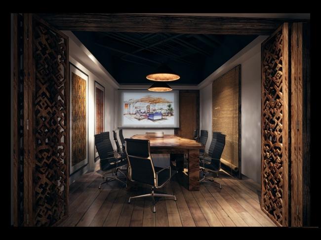 最新办公区域-会议室设计案例精选