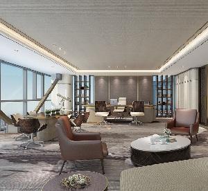 """办公空间设计:""""前海成长""""投资管理公司办公室设计"""