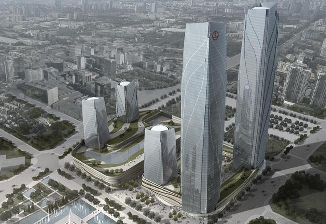 """""""天著大厦""""商务中心设计案例(北京)"""